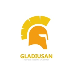 Helmet logo or symbol icon vector image