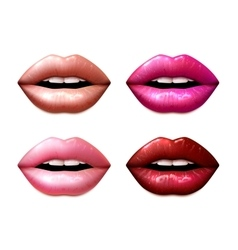 Lipstic samples set vector