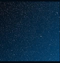 Starry night dark bluesky stars sky night vector