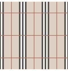 Tartan seamless pattern beige vertical vector