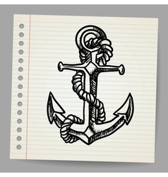 Anchor sketch vector