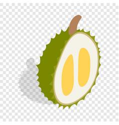 Durian isometric icon vector
