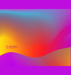 Vibrant abstract colorful background design vector