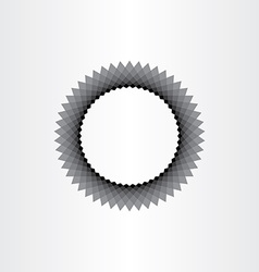 Abstract black hole circle background vector