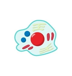 Germs cartoon icon vector