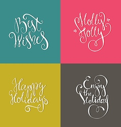 Christmas posters vector