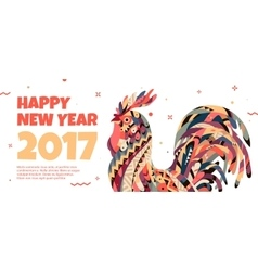Rooster symbol 2017 vector