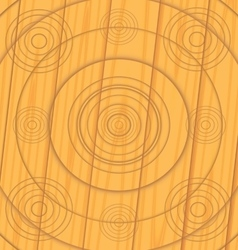 Texture of the boards with wood carvings vector