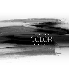 Black dark ink paint background design vector