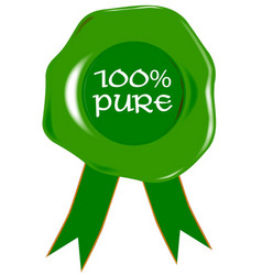 100 percent pure vector