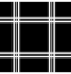 Tartan white seamless pattern vector image