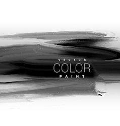 Black dark ink paint background design vector