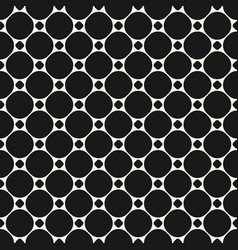circles seamless pattern abstract geometric vector image vector image
