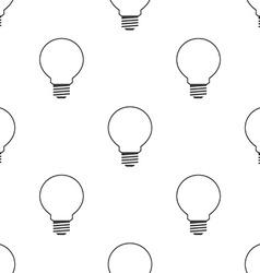 idea symbol seamless pattern vector image