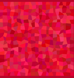 Red abstract rectangle tile mosaic background - vector