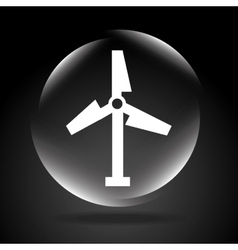 windmill signal vector image