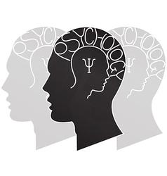 Psychology vector