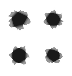 Hole set vector