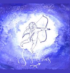 Astrology sign sagittarius vector