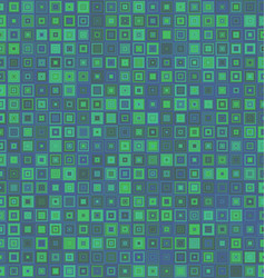 Grean and blue square mosaic background vector