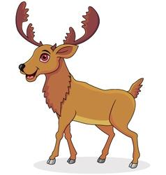 Moose cartoon vector
