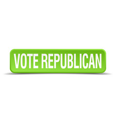 Vote republican vector