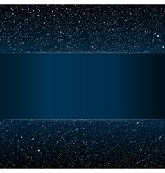 Starry night sky Stars sky night Blue stripe vector image