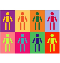 human diversity vector image