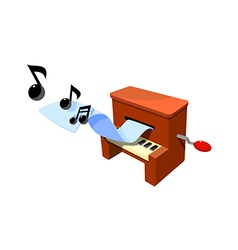 icon organ vector image