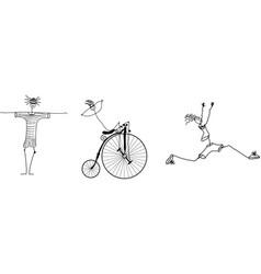 Triathlon vector