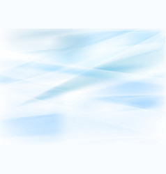 Abstract blue and white blurred stripes background vector
