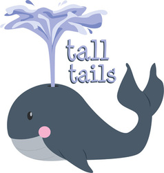 Tall tails vector