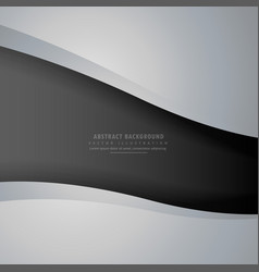 Abstract gray and black dark background vector