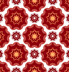 Abstract pattern lace vector image