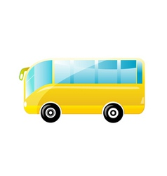 Beautiful bus vector