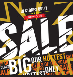 Big sale deal vector