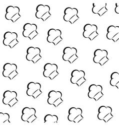 Chef hat symbol vector