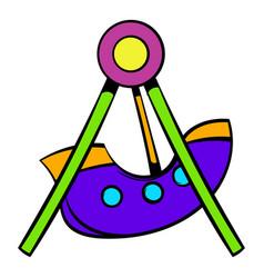Swing icon icon cartoon vector