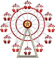 Ferris wheel vector