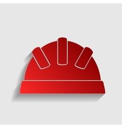 Helmet sign vector