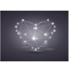 Valentine day background vector