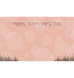 Landscape for valentine day backgrounds vector