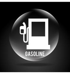 gasoline signal vector image