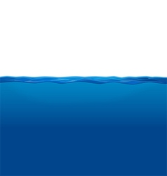 Underwater and water surface vector