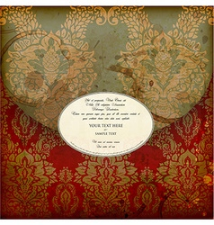 Invitation design vector