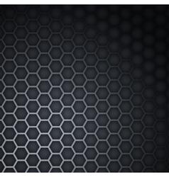 Black dark background vector image
