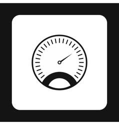 Car speedometer icon simple style vector image vector image