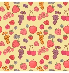 Berry background drawing vector