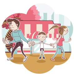 Child custody vector