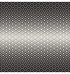 Hexagon star shapes blend halftone lattice vector